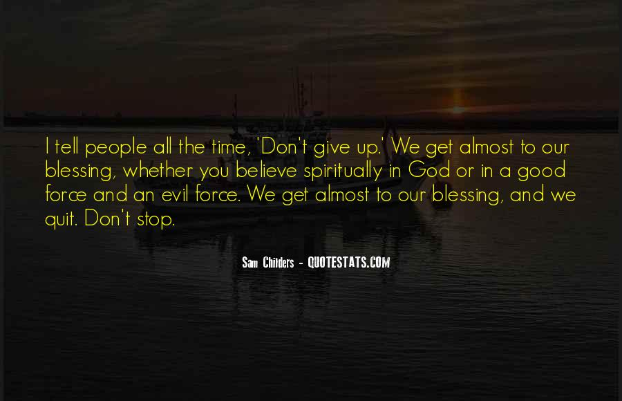 Quotes About Don't Give Up #105368