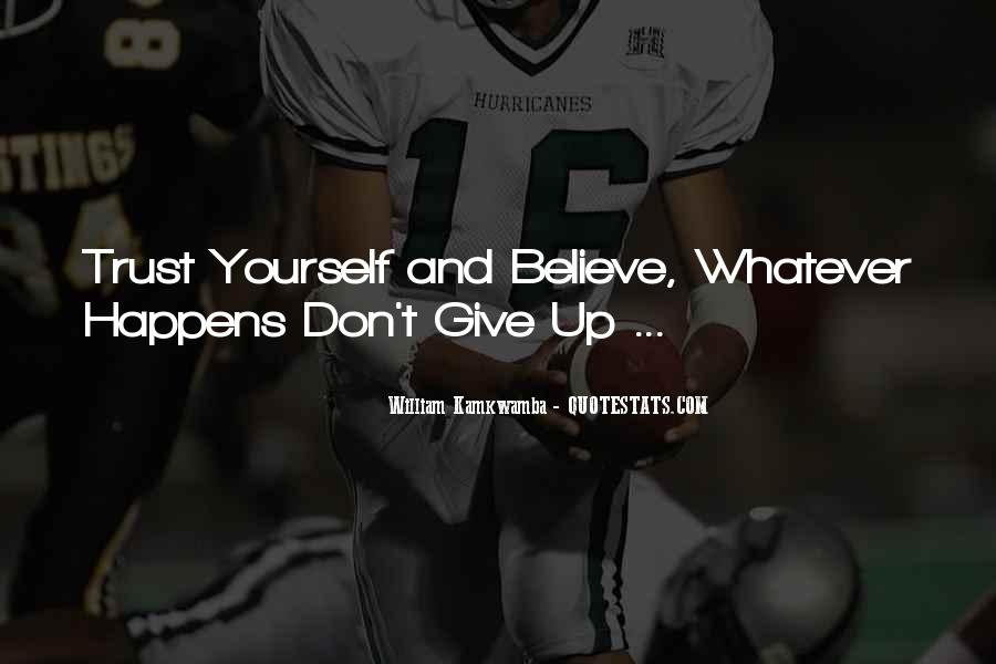 Quotes About Don't Give Up #115961