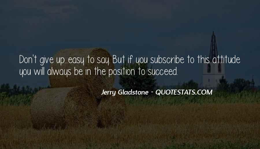 Quotes About Don't Give Up #120215