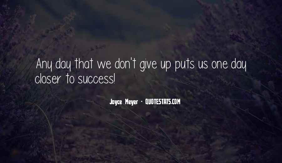 Quotes About Don't Give Up #13133