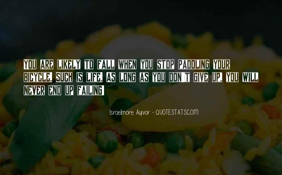 Quotes About Don't Give Up #138919