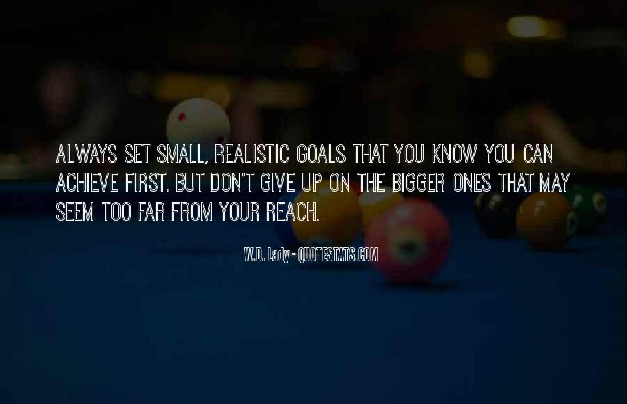 Quotes About Don't Give Up #59891