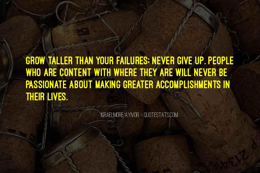 Quotes About Don't Give Up #62404