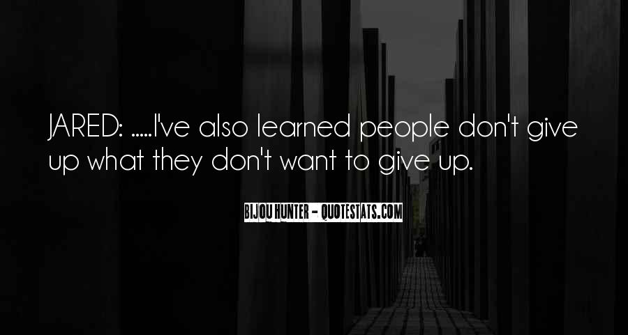 Quotes About Don't Give Up #64215