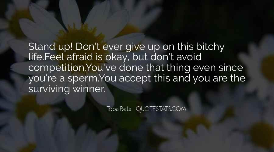 Quotes About Don't Give Up #91929