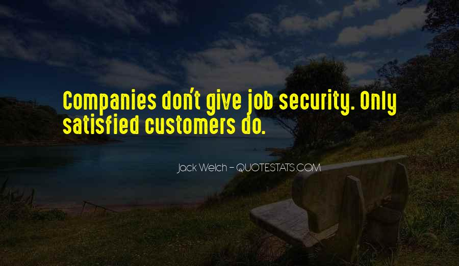 Quotes About Security Job #1133203