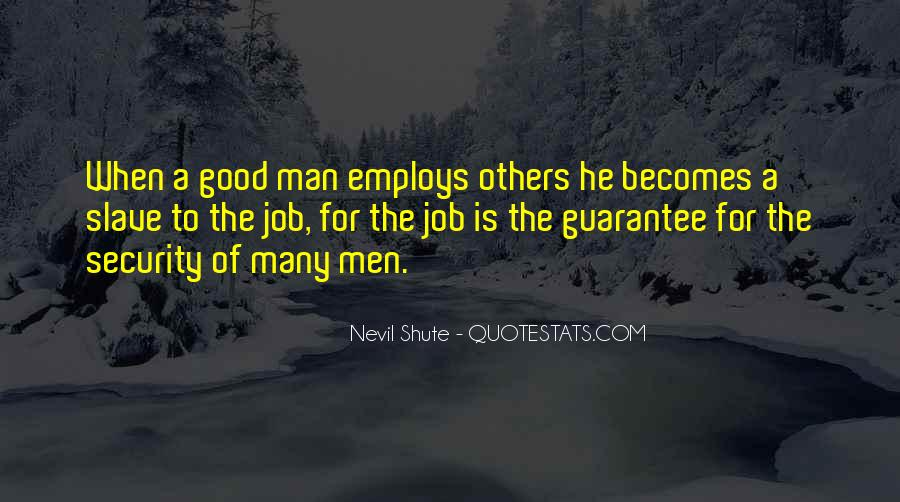 Quotes About Security Job #1277551