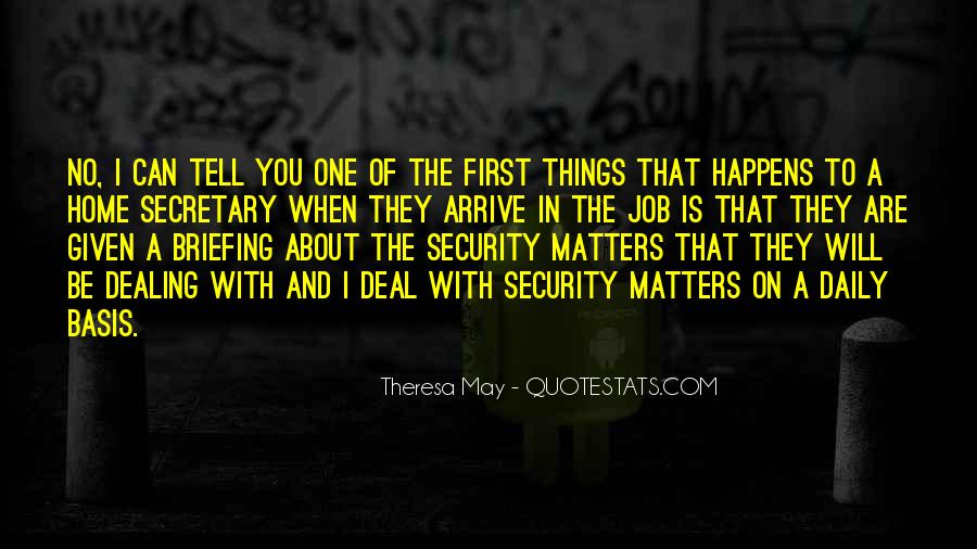 Quotes About Security Job #1360559