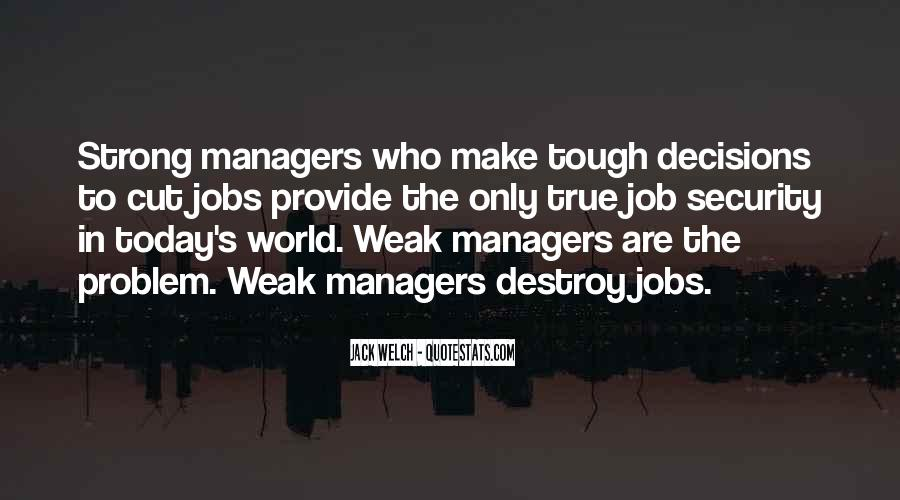 Quotes About Security Job #1375356