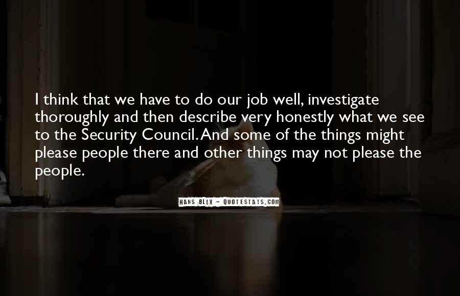 Quotes About Security Job #1383460