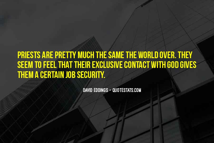 Quotes About Security Job #1512995