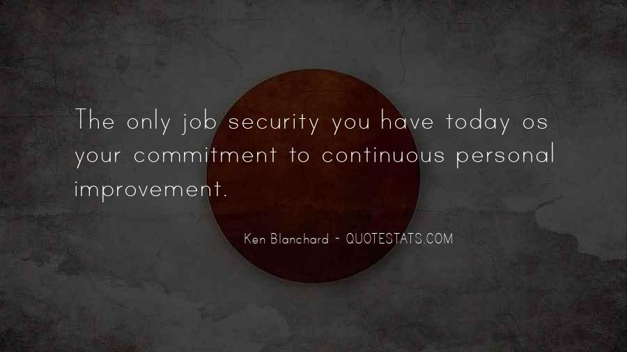 Quotes About Security Job #275472