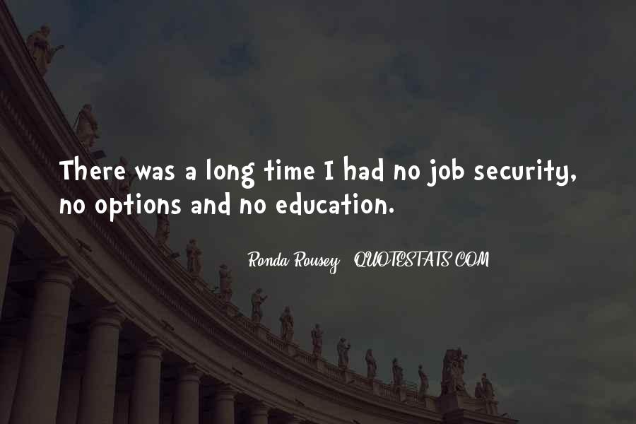 Quotes About Security Job #331948