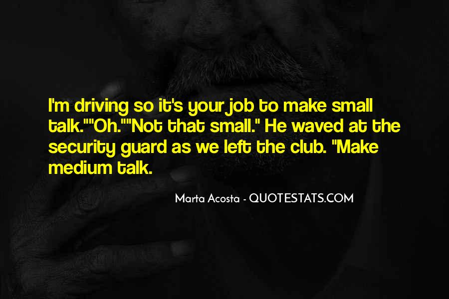 Quotes About Security Job #567315