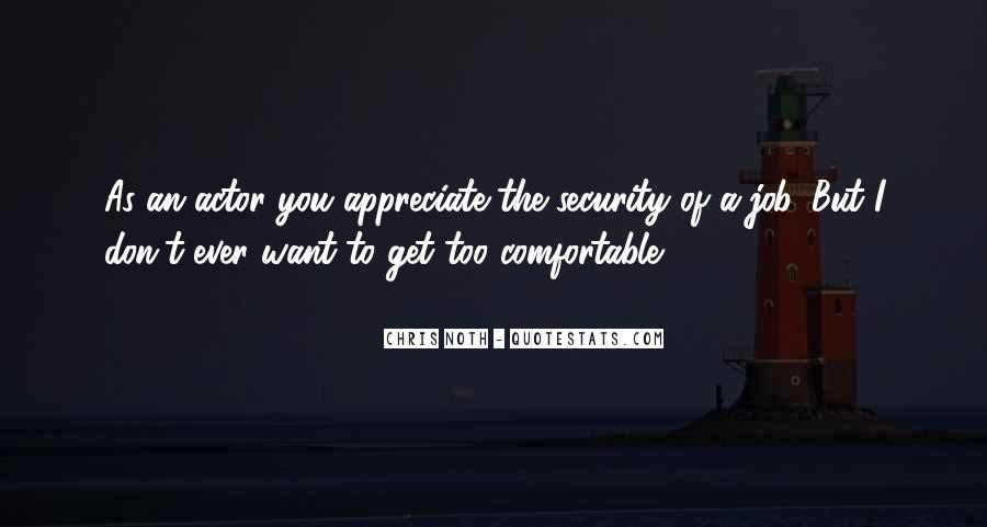 Quotes About Security Job #579660