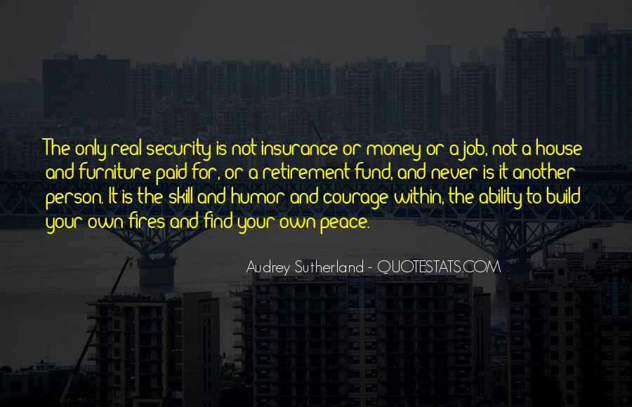 Quotes About Security Job #653047