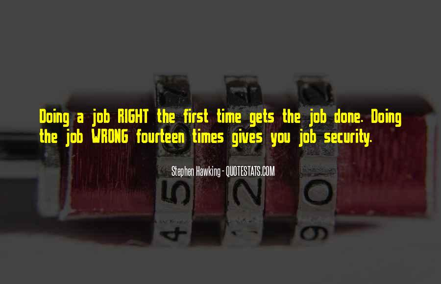 Quotes About Security Job #693005