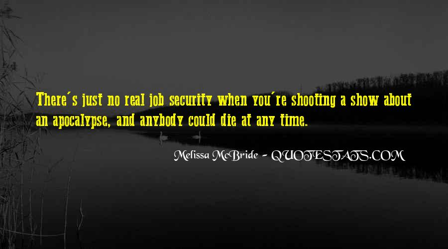 Quotes About Security Job #807715