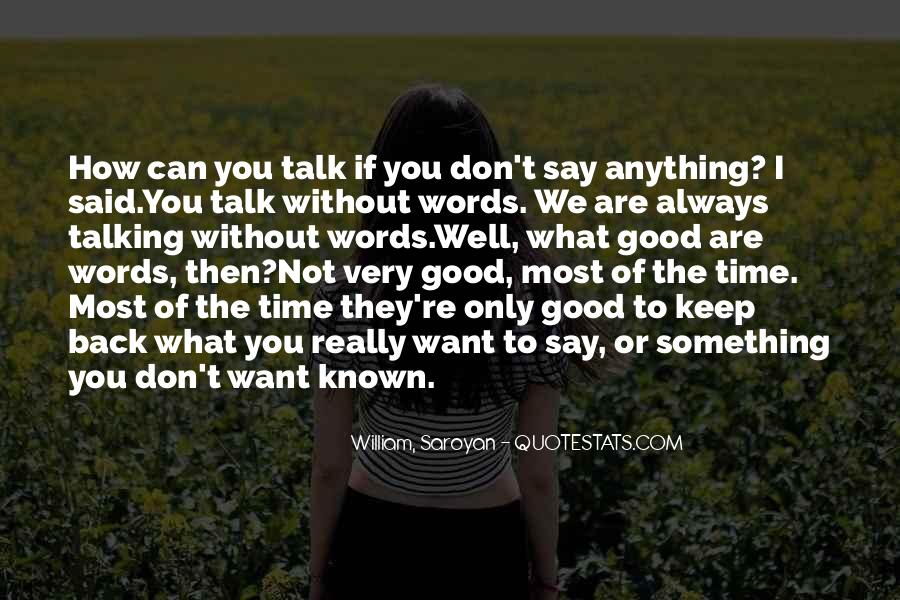 Quotes About Words You Can't Say #1444267