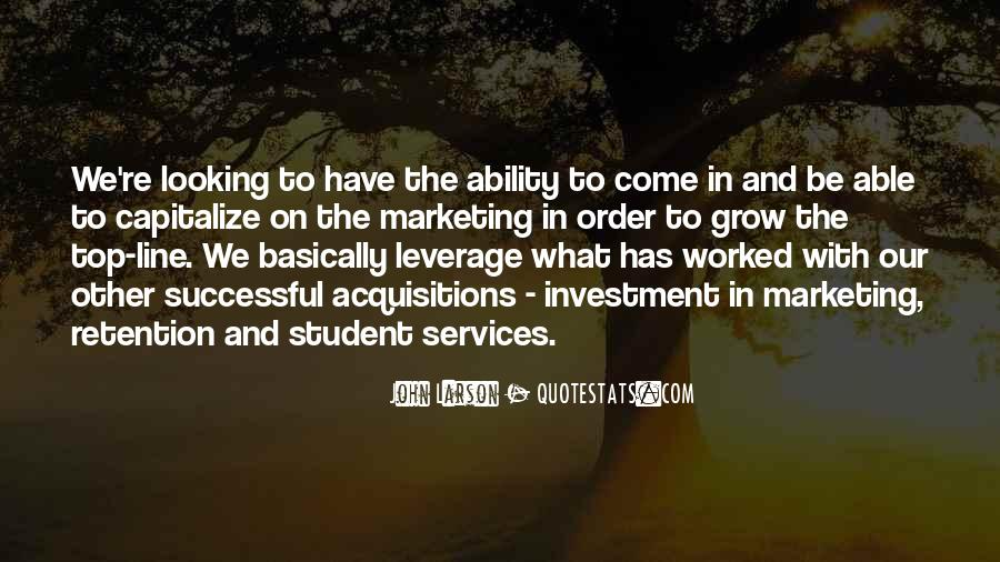 Quotes About Services Marketing #438860