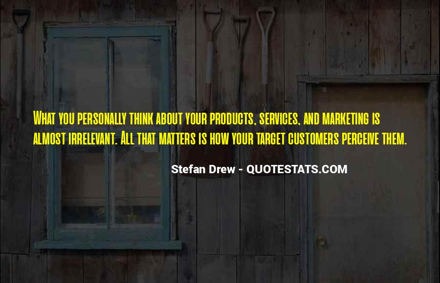 Quotes About Services Marketing #574233