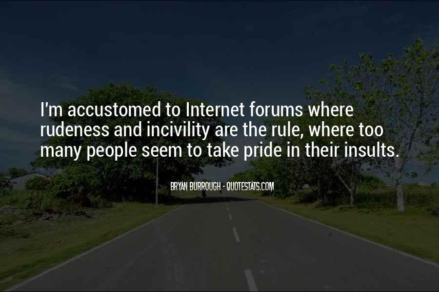 Quotes About Incivility #135484
