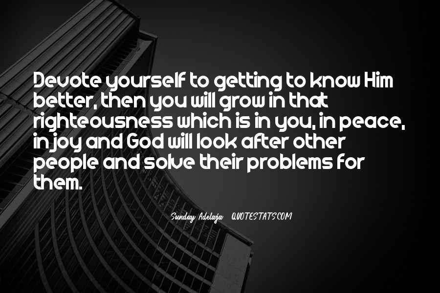 Quotes About God And Yourself #105676