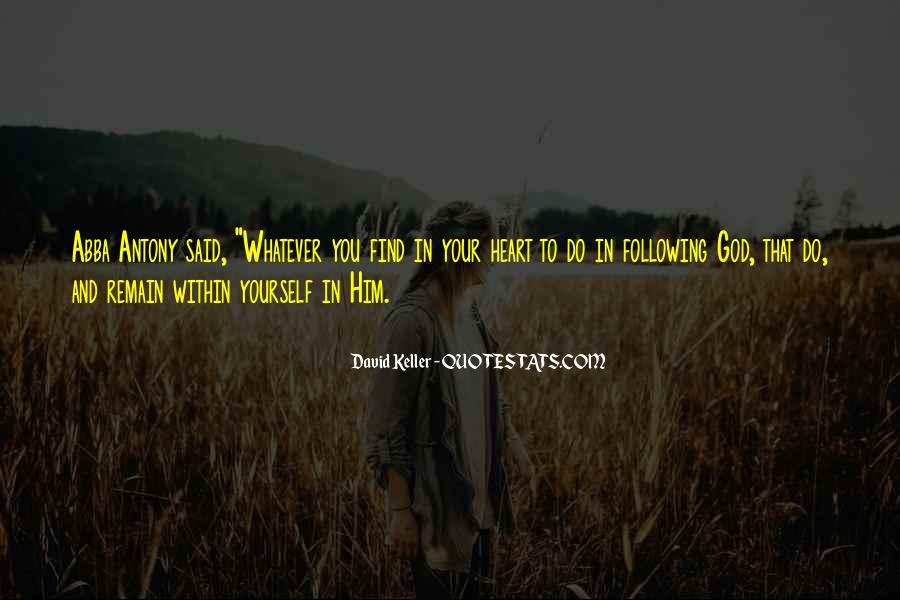Quotes About God And Yourself #187669