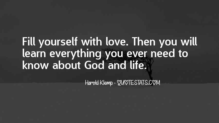 Quotes About God And Yourself #89726