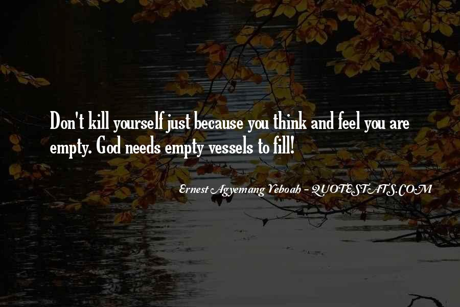 Quotes About God And Yourself #98710