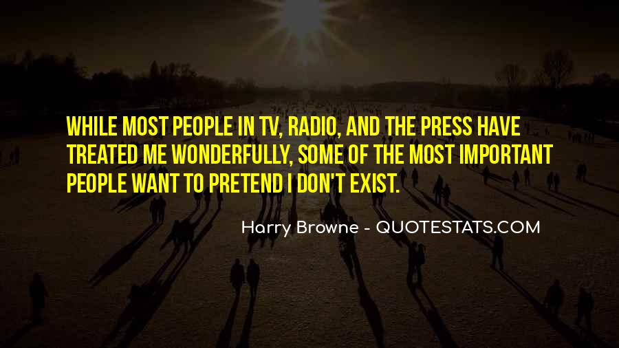 Quotes About Tv And Radio #1007711