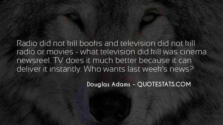 Quotes About Tv And Radio #1027768