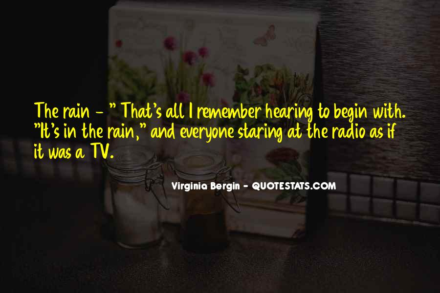 Quotes About Tv And Radio #1503361