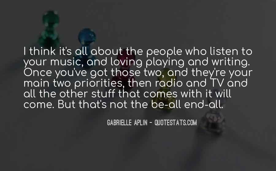 Quotes About Tv And Radio #328292