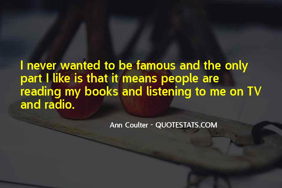 Quotes About Tv And Radio #983771