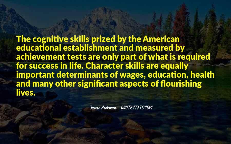 Quotes About Achievement Tests #646845