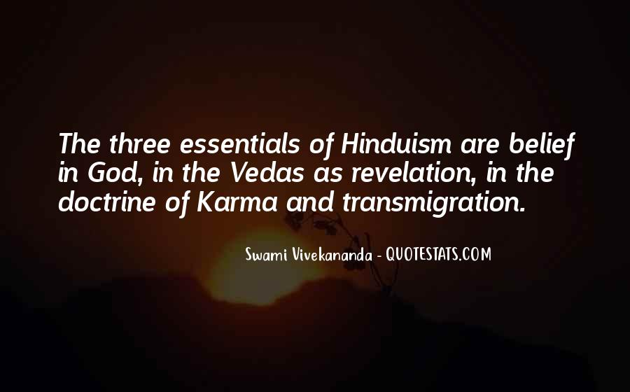 Quotes About Karma Hinduism #1377584