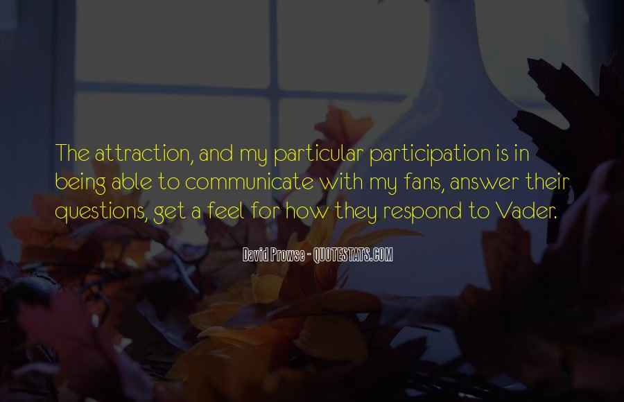 Quotes About Participation #154970