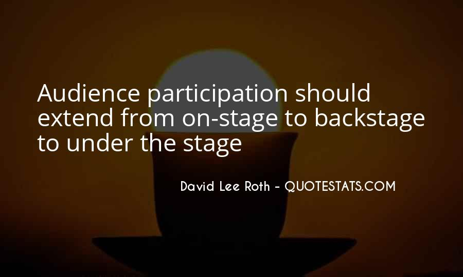 Quotes About Participation #3973