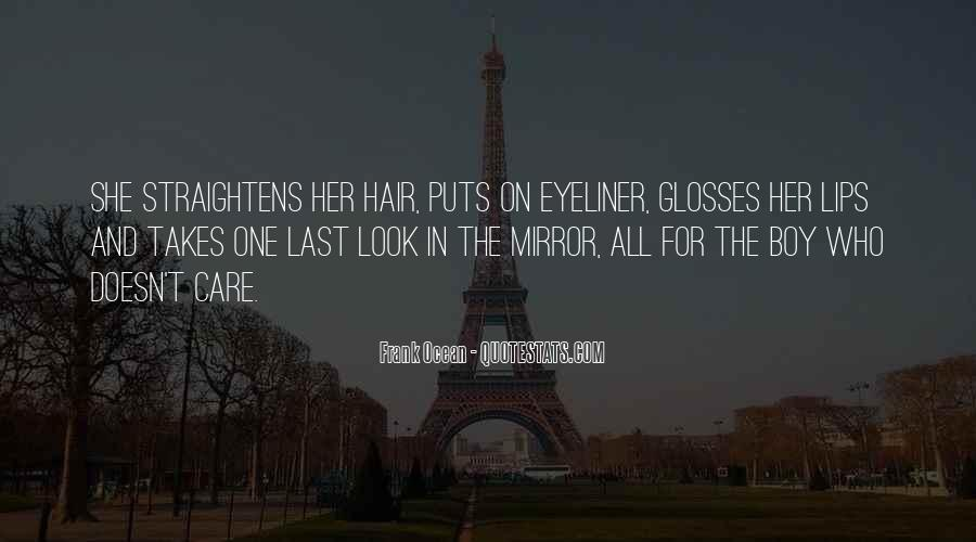 Quotes About Hair Care #1253365