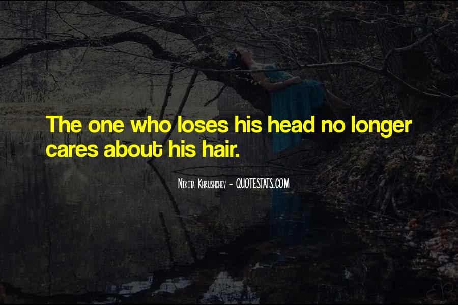 Quotes About Hair Care #686894