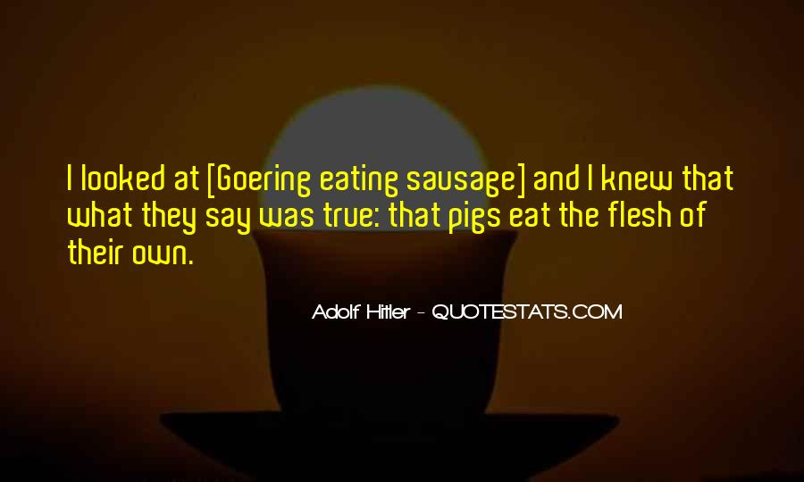 Quotes About Eating Flesh #1196228