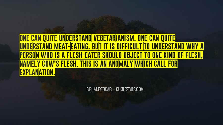 Quotes About Eating Flesh #1711842