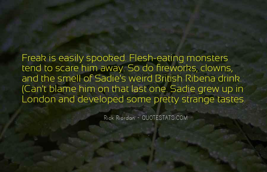 Quotes About Eating Flesh #178906