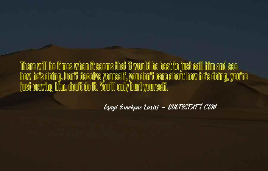 Quotes About Doing It Yourself #134304
