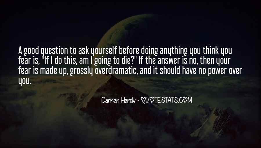 Quotes About Doing It Yourself #265293