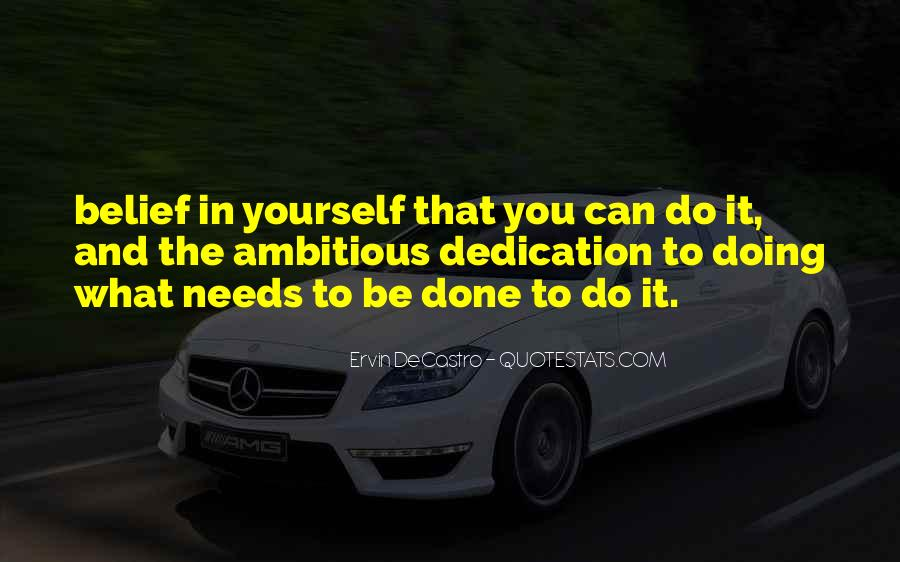 Quotes About Doing It Yourself #412656