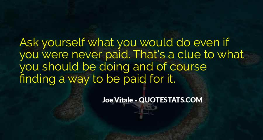 Quotes About Doing It Yourself #60658