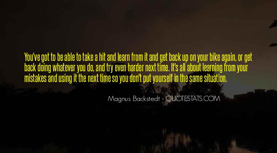 Quotes About Doing It Yourself #99314