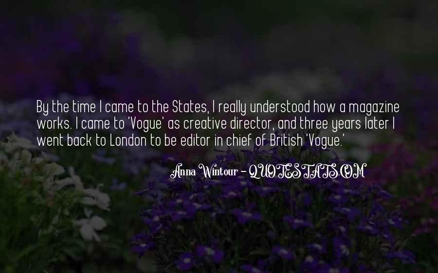 Quotes About Vogue Magazine #1050854